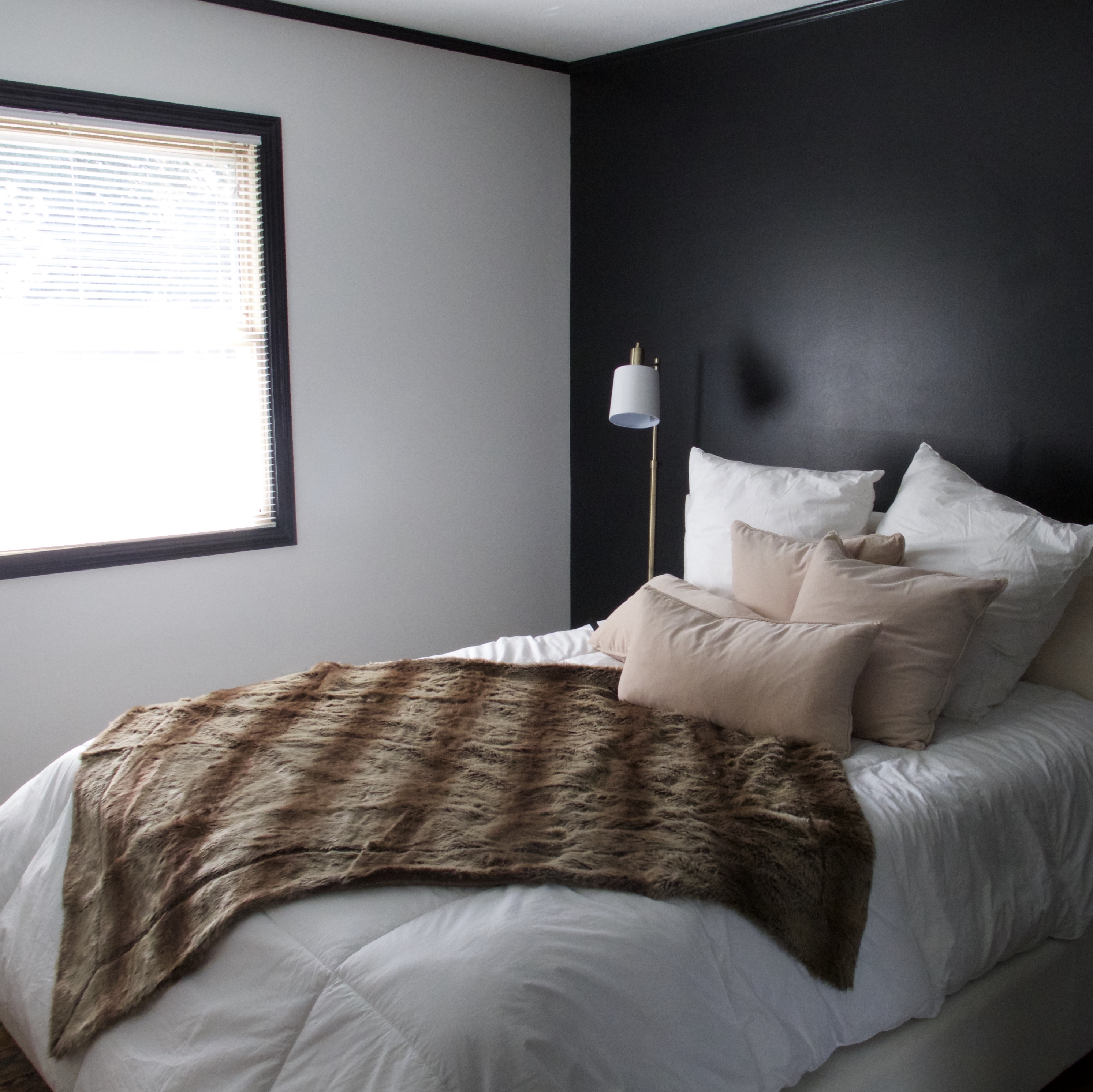 Black Accent Bedroom Wall Black Trim Shepard Painting Solutions Residential Commercial Painting Canton Oh