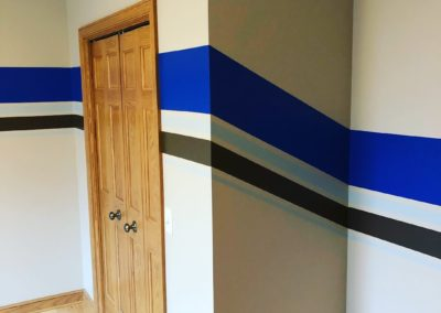 painted-angled-stripes-in-kids-room
