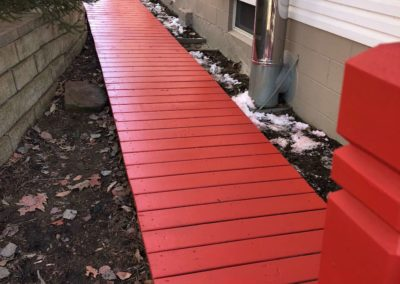 bright-red-deck-walkway