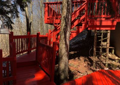 bright-red-house-deck
