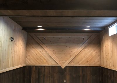 Rough-Cedar-And-Rough-Pine-Wood-Stained-Finished-Basement-Man-Cave